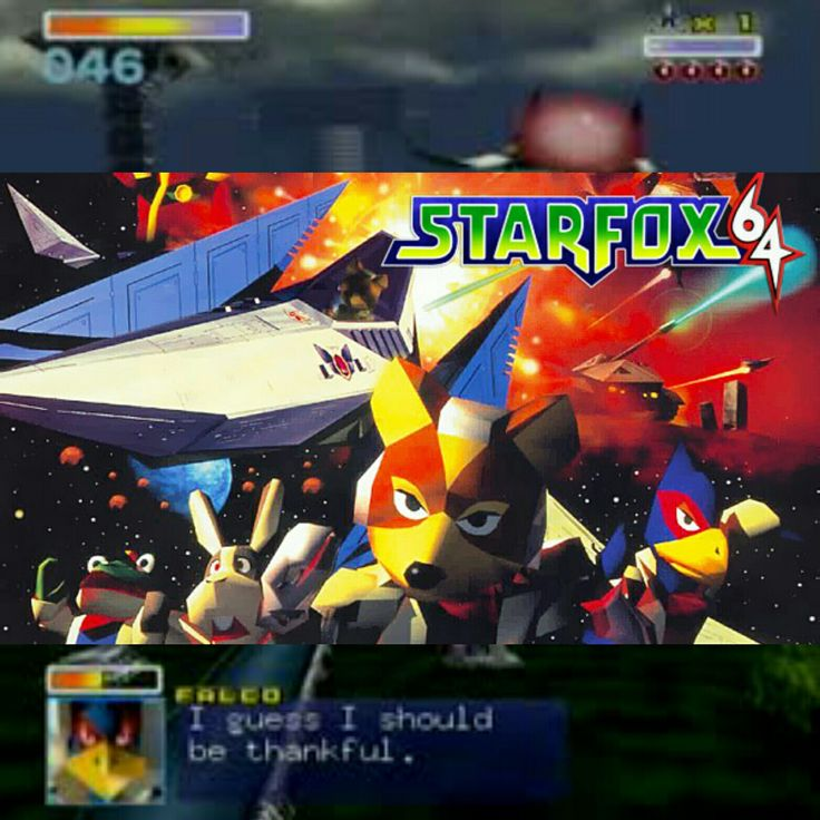 Happy 20th anniversary to Star Fox 64! Easily one of the best n64 titles and one of my favorite series.