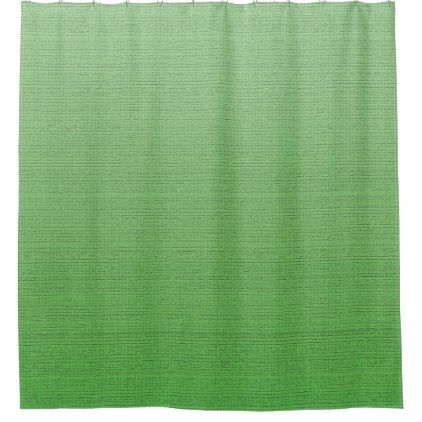 #personalize - #Lime Green Gradient Ombre Fade Medium Texture Shower Curtain