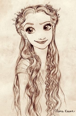 Rapunzel | 19 Disney Characters That Could Have Looked Completely Different