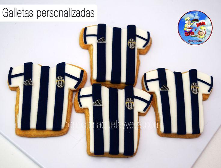 Galletas camiseta Juventus - Juventus shirt cookies