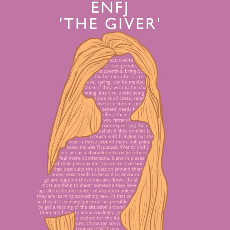 """ENFJ Rapunzel 