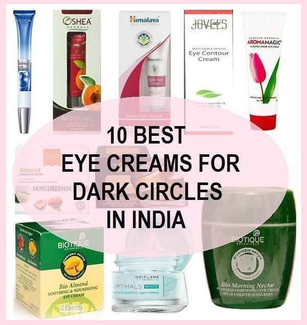 10 Best Under Eye Creams For Dark Circles Puffiness In India