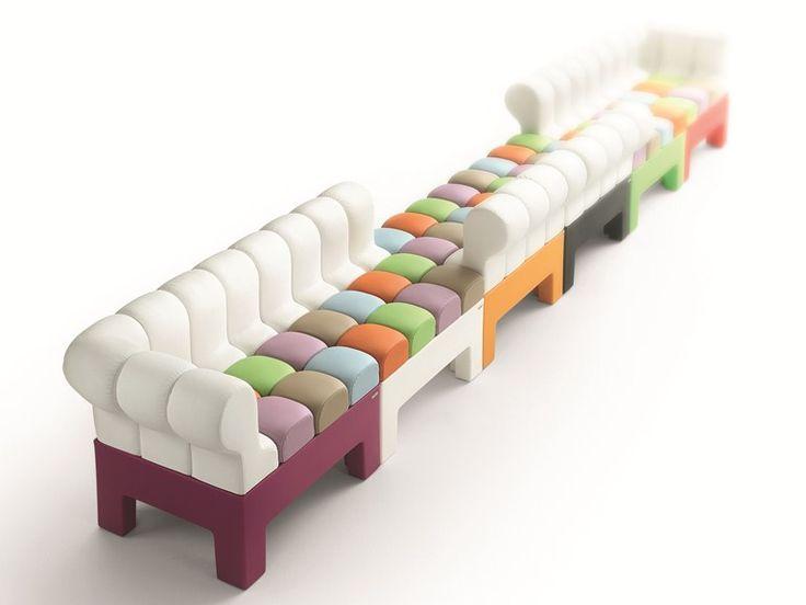 Sofá secional modular Coleção Modì by Myyour Italian Different Concept | design MoreDesign