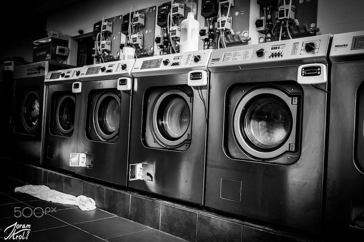 Laundromat by Joram Krol on 500px