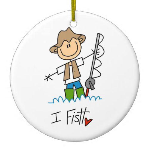 I Fish Ornaments