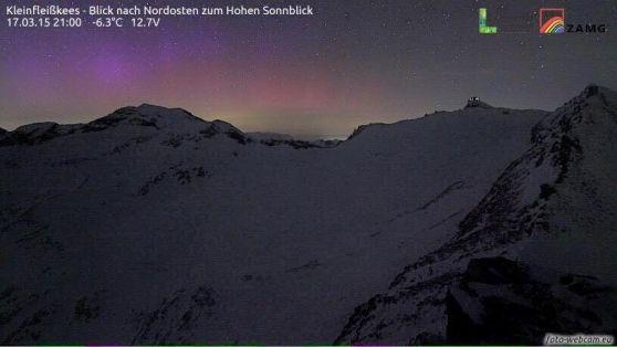 Il meteorologo Dieter Peterlin: osservata sulle Alpi oltre i 3 mila metri, un evento raro