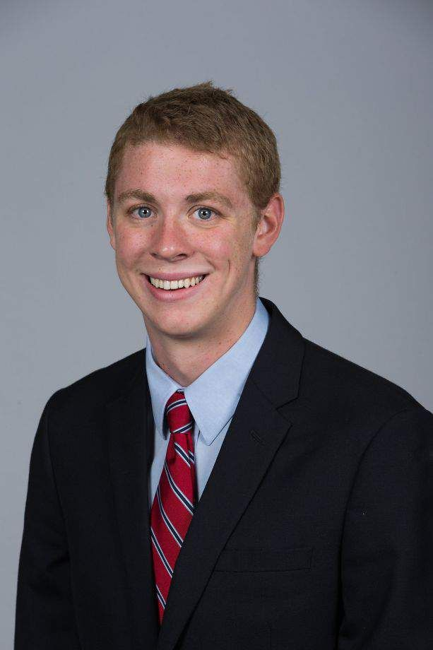 The victim read the statement directly to Turner in court (Picture: Stanford University)