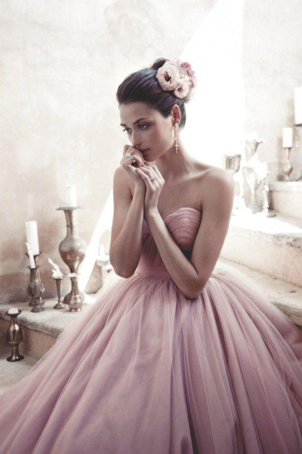 dress, pink, fashion, style, model,