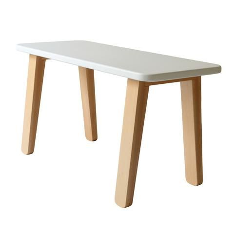 Mum and Dad Factory Kids Desk - White - Growing Footprints Scandinavian Kids Interiors