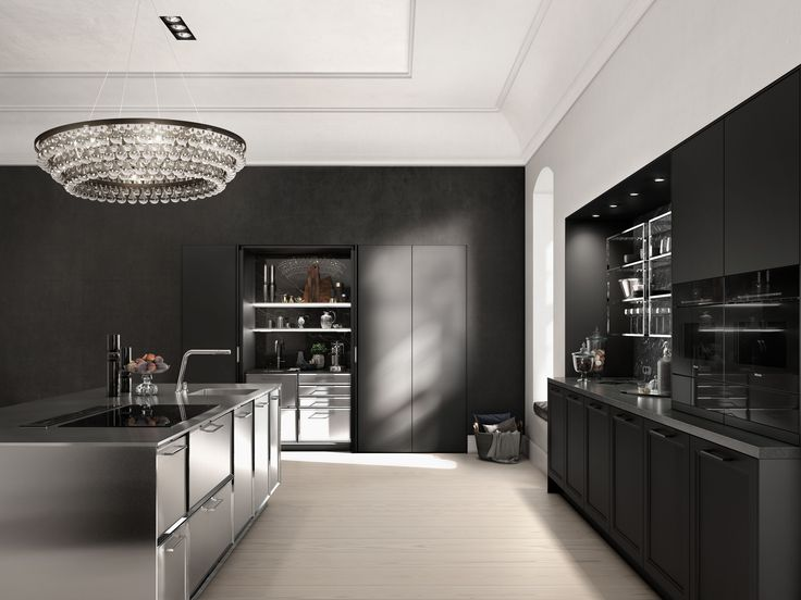 Classic kitchen design reinvented  Play with contrasts  unite styles and  employ high quality materials to create an impressive interior design 10 best SieMatic CLASSIC   Kitchen Interior Design  . Siematic Kitchen Designs. Home Design Ideas