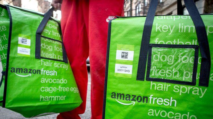 Ausweitung des Geschäftsfelds: Amazon attackiert Paketdienste und Lebensmittelhändler