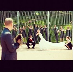 Baseball wedding this is my favorite Baseball Wedding  www.preparetowed.com