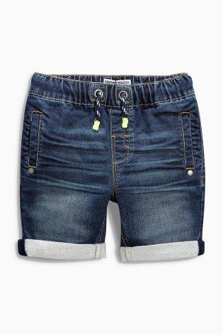 Buy Jersey Denim Shorts (3mths-6yrs) online today at Next: Denmark