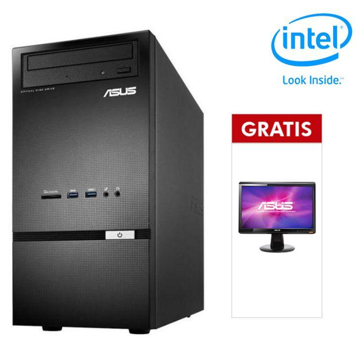 Asus Desktop PC K30AD-ID002D - Intel® Pentium Dual-Core   LED Monitor 15,6