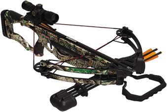 BARNETT OUTDOORS LLC 16 Barnett Raptor Crossbow Package w/Red Dot Scope, EA