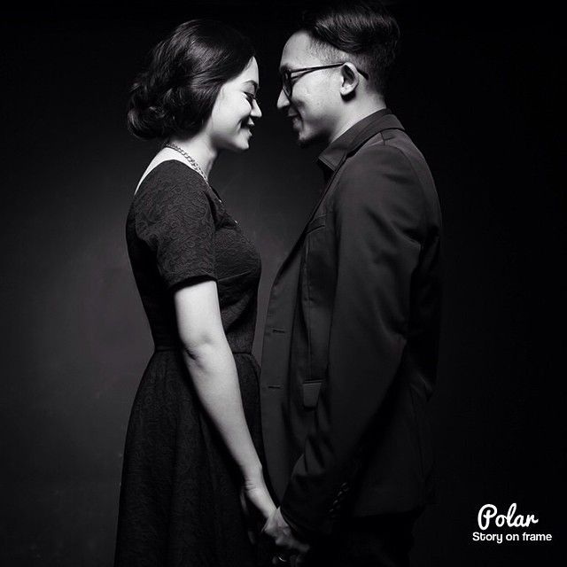 It is better to be hated for what you are than to be loved for what you are not. Counting Days for Ara & Dhea Wedding. #wedding #prewedd #prewedding #bw #blackandwhite #bride #groom #love #moment #vscocam #vsco #engagementphoto
