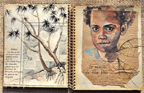 Le Marché de Port Vila (Stéphanie Ledoux).
