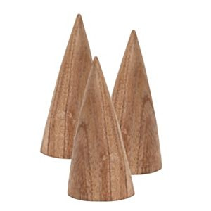Wooden Ring Cones available from stock for next day delivery, from Morplan Retail Supplies
