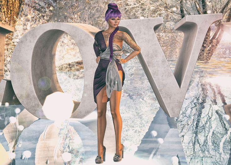 Photos taken @ Luanes Magical World (winter theme) *C R E D I T S* head skin: Glam Affair – Moirah Applier in Jamaica (Catwa appl) – Gacha common @ The Gacha Garden ♥eyes appl: .::WoW S…