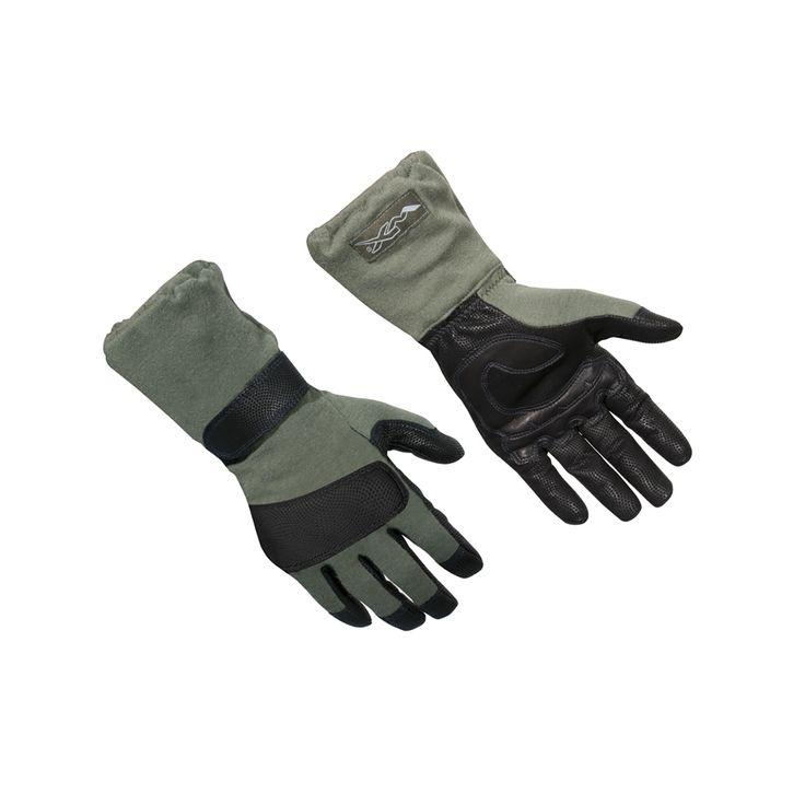 Штурмовые перчатки Wiley X RAPTOR G502