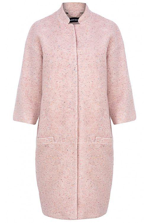 Женское пальто О-силуэта