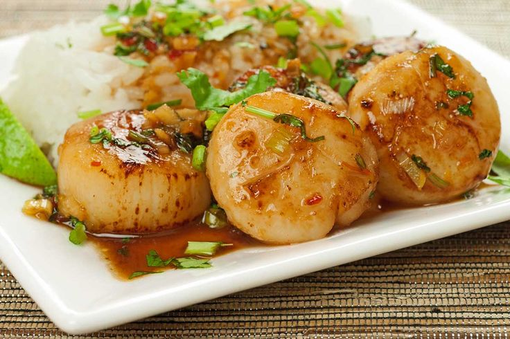 Thai Sweet Chili and Orange Scallops: Sea scallops, lightly glazed with a combination of Thai sweet chili sauce, orange juice and orange zest makes…