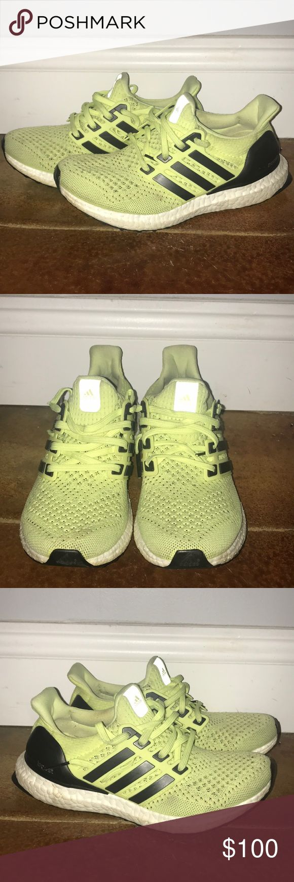 Adidas Ultra Boost Adidas Ultra boost shoe. Gently worn good condition. Few spots that will go away with washing. Size 5.5 adidas Shoes Athletic Shoes