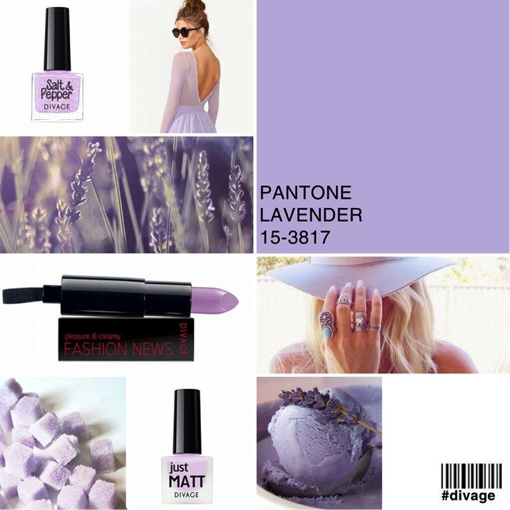 #coloroftheweek Pantone 15- 3817 #Lavender: un colore pastello bellissimo e molto fresco, splendido d'estate con un colorito più abbronzato. Per il make up risalta tantissimo gli occhi verdi. Ideale un finish shimmer per uno sguardo super luminoso.