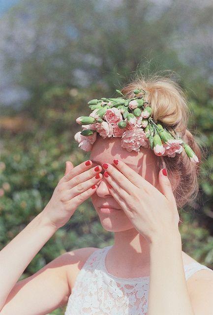 Carnation crown