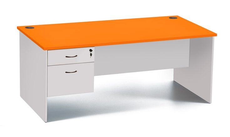 Hub Teacher Desk With Drawers