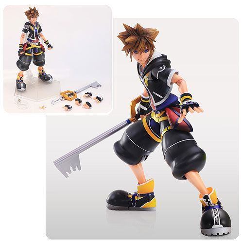 Kingdom Hearts 2 Sora Play Arts Kai Action Figure