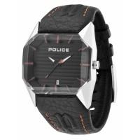 Montre Police Homme Vector Cuir PL.12176JS-02C
