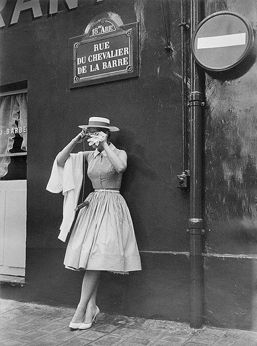 Kim Novak, Rue du Chevalier de la Barre