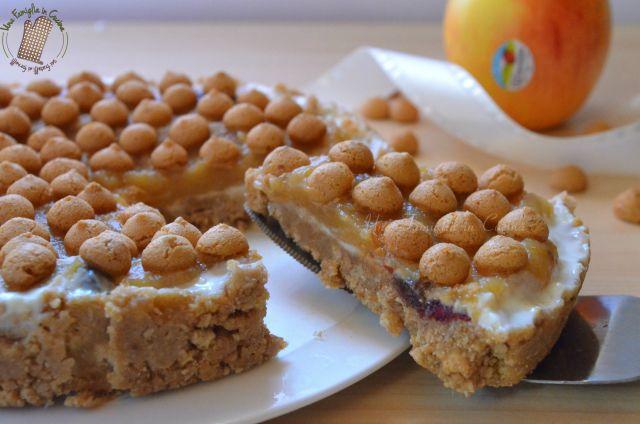 torta di amaretti e mele, foodblogger unafamigliaincucina.it