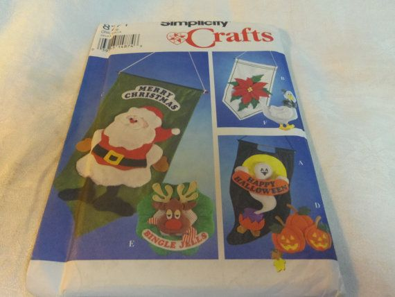 Halloween Christmas Holiday Banners 6 Pattern by CraftItWithLove