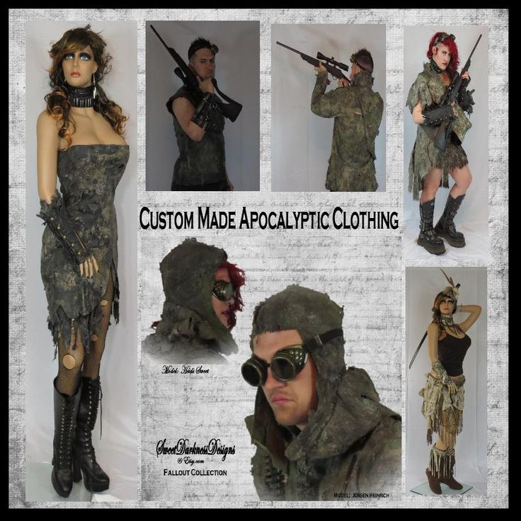 """Post Apocalyptic Custom Made I Use Your Clothes """"I'll turn your DUMBASS CLoTHING into BADASS CLoTHING"""" FAllout Clothing by WastelandWearable by WastelandWearable on Etsy"""