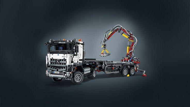 LEGO Technic 2 in 1 Modell Mercedes Sattelzug