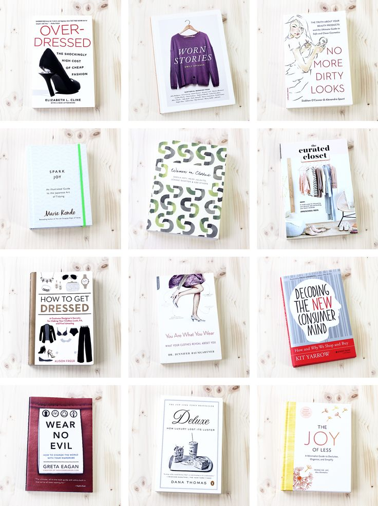 Gift Guide: 12 Thoughtful books about style, ethical fashion and building a better, simpler wardrobe