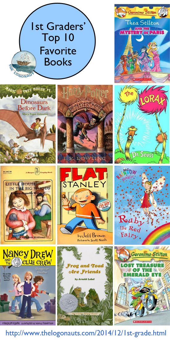 Top 10 Favorite Books of First Graders | The Logonauts