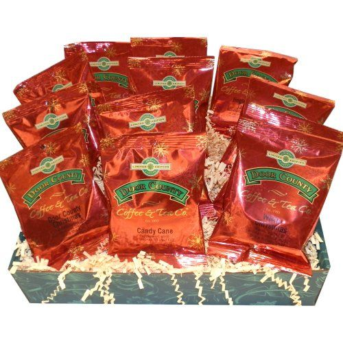 Door County Coffee Holiday Full-pot 12-pack Gift Set - Limited Time Only - http://mygourmetgifts.com/door-county-coffee-holiday-full-pot-12-pack-gift-set-limited-time-only/