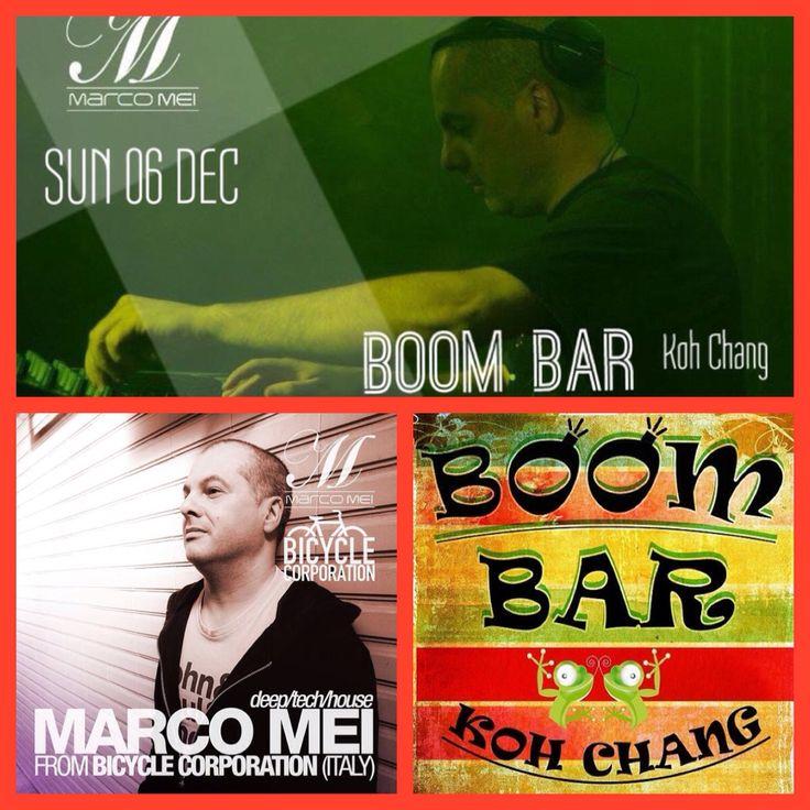 Happening tonight at Boom Bar , Thailand
