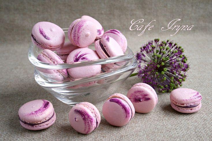 Сafe Iryna: Макаронс с ягодным вкусом