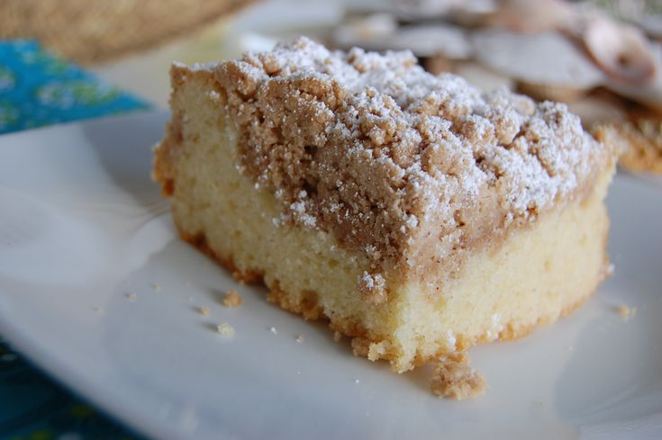 Coffee Cake; Entemann's inspired!! I've used regular flour in place of cake flour and used half and half in place of the buttermilk.