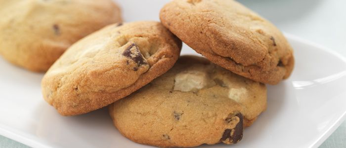 Decadent Chocolate Chip Cookies recipe from Food in a Minute