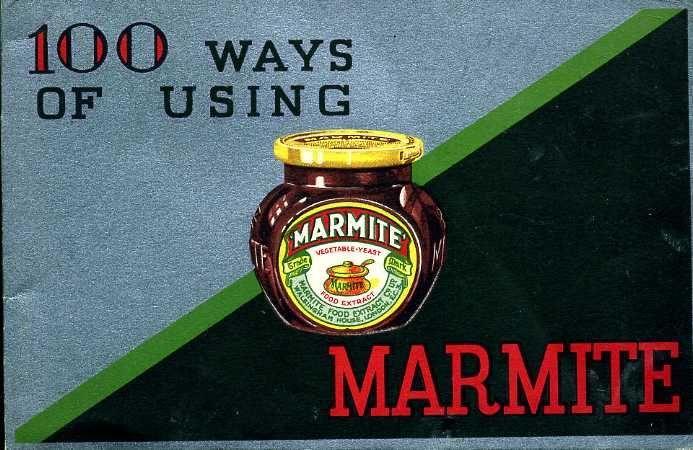 1935 100 Ways of Using Marmite book