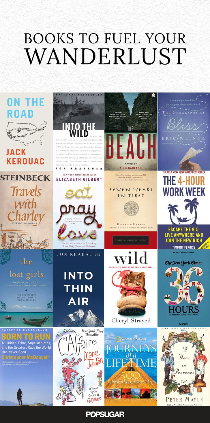If you suffer from acute wanderlust, and you're constantly trying to find ways to fit another trip into your schedule, then you might be addicted to traveling. Here are 18 books, both fiction and nonfiction, that will get you in the mood to jet off to another new place, as if you needed any more convincing!