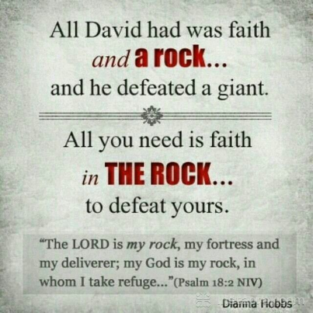 Psalm 18:2 (NIV)