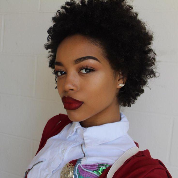 más de 25 ideas increíbles sobre afro corto en pinterest