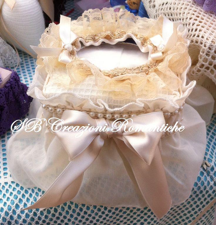 Copri scatola porta kleenex interamente cucita a mano no for Macchina da cucire seconda mano