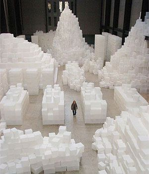 Embankment by Rachel Whiteread (October 2005-April 2006)
